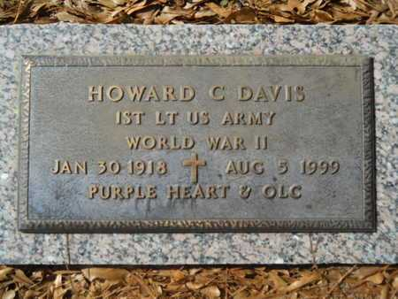 DAVIS, HOWARD C (VETERAN WWII) - Lincoln County, Louisiana | HOWARD C (VETERAN WWII) DAVIS - Louisiana Gravestone Photos