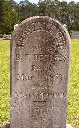 DEFREES, REBECCA - Lincoln County, Louisiana | REBECCA DEFREES - Louisiana Gravestone Photos