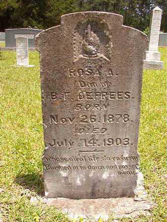 DEFREES, ROSA A - Lincoln County, Louisiana | ROSA A DEFREES - Louisiana Gravestone Photos