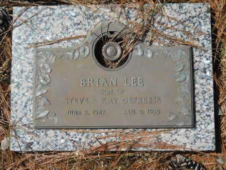DEFREESE, BRIAN LEE - Lincoln County, Louisiana | BRIAN LEE DEFREESE - Louisiana Gravestone Photos