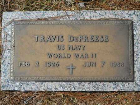 DEFREESE, TRAVIS (VETERAN WWII) - Lincoln County, Louisiana | TRAVIS (VETERAN WWII) DEFREESE - Louisiana Gravestone Photos