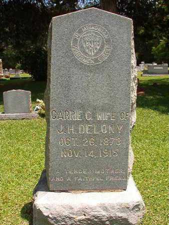 WILDER DELONY, CARRIE CAMILLE - Lincoln County, Louisiana   CARRIE CAMILLE WILDER DELONY - Louisiana Gravestone Photos
