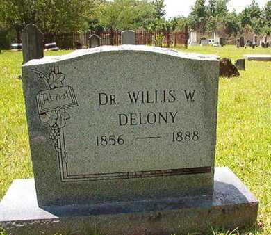 DELONY, DR, WILLIS W - Lincoln County, Louisiana | WILLIS W DELONY, DR - Louisiana Gravestone Photos