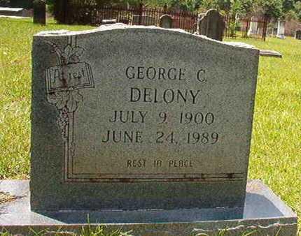 DELONY, GEORGE C - Lincoln County, Louisiana | GEORGE C DELONY - Louisiana Gravestone Photos