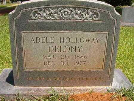 DELONY, MARY ADELE - Lincoln County, Louisiana | MARY ADELE DELONY - Louisiana Gravestone Photos