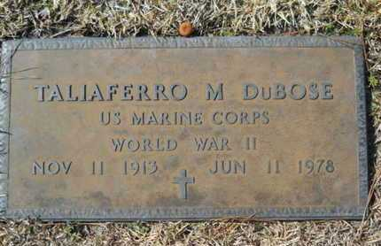 DUBOSE, TALIAFERRO M (VETERAN WWII) - Lincoln County, Louisiana | TALIAFERRO M (VETERAN WWII) DUBOSE - Louisiana Gravestone Photos