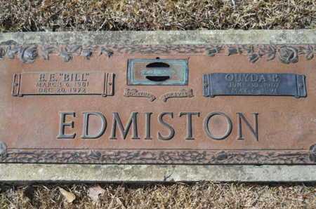 EDMISTON, OUYDA B - Lincoln County, Louisiana | OUYDA B EDMISTON - Louisiana Gravestone Photos