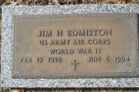 EDMISTON, JIM H (VETERAN WWII) - Lincoln County, Louisiana | JIM H (VETERAN WWII) EDMISTON - Louisiana Gravestone Photos