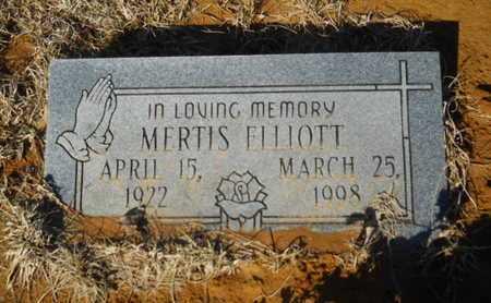 ELLIOTT, MERTIS - Lincoln County, Louisiana | MERTIS ELLIOTT - Louisiana Gravestone Photos