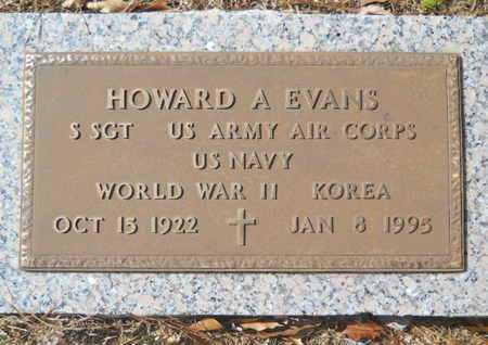 EVANS, HOWARD A (VETERAN 2 WARS) - Lincoln County, Louisiana   HOWARD A (VETERAN 2 WARS) EVANS - Louisiana Gravestone Photos