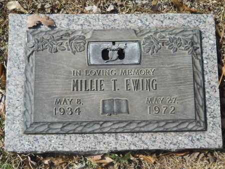 EWING, MILLIE T - Lincoln County, Louisiana | MILLIE T EWING - Louisiana Gravestone Photos