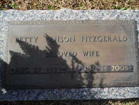 FITZGERALD, BETTY - Lincoln County, Louisiana | BETTY FITZGERALD - Louisiana Gravestone Photos