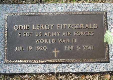 FITZGERALD, ODIE LEROY (VETERAN WWII) - Lincoln County, Louisiana | ODIE LEROY (VETERAN WWII) FITZGERALD - Louisiana Gravestone Photos