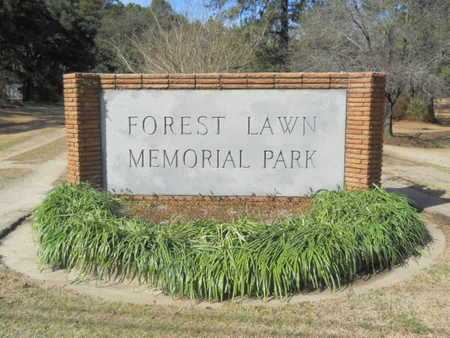 *FOREST LAWN MEMORIAL PARK, (GATE) - Lincoln County, Louisiana | (GATE) *FOREST LAWN MEMORIAL PARK - Louisiana Gravestone Photos