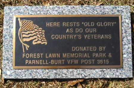 *FOREST LAWN MEMORIAL PARK, OLD GLORY - Lincoln County, Louisiana | OLD GLORY *FOREST LAWN MEMORIAL PARK - Louisiana Gravestone Photos