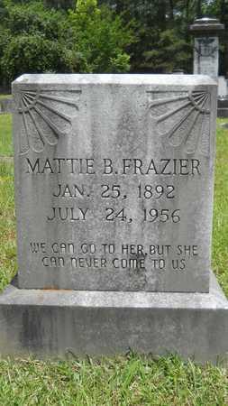 FRAZIER, MATTIE B - Lincoln County, Louisiana | MATTIE B FRAZIER - Louisiana Gravestone Photos