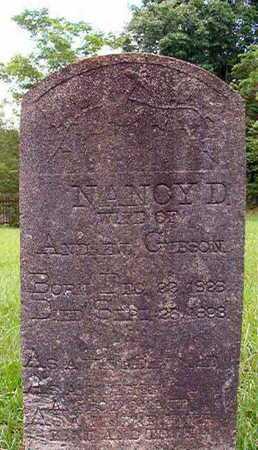 GIBSON, NANCY D - Lincoln County, Louisiana | NANCY D GIBSON - Louisiana Gravestone Photos