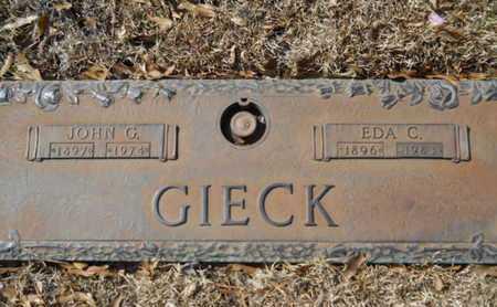 GIECK, EDA C - Lincoln County, Louisiana | EDA C GIECK - Louisiana Gravestone Photos