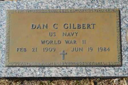 GILBERT, DAN C (VETERAN WWII) - Lincoln County, Louisiana | DAN C (VETERAN WWII) GILBERT - Louisiana Gravestone Photos