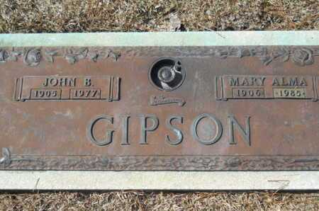GIPSON, MARY ALMA - Lincoln County, Louisiana | MARY ALMA GIPSON - Louisiana Gravestone Photos