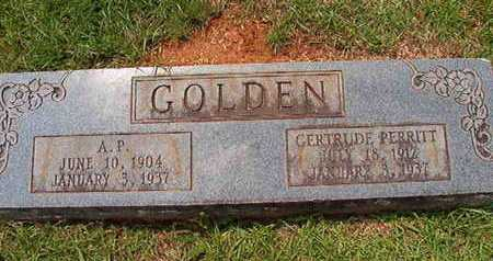 GOLDEN, GETRUDE - Lincoln County, Louisiana | GETRUDE GOLDEN - Louisiana Gravestone Photos