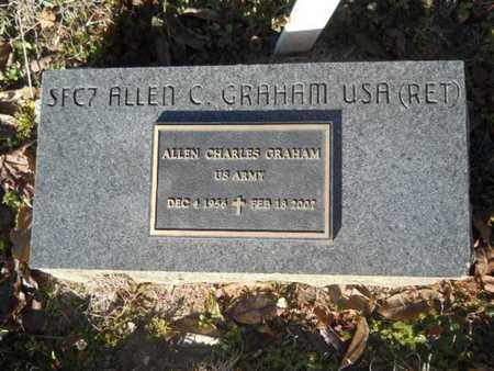 GRAHAM, ALLEN CHARLES (VETERAN) - Lincoln County, Louisiana   ALLEN CHARLES (VETERAN) GRAHAM - Louisiana Gravestone Photos