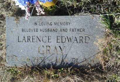 GRAY, LARENCE EDWARD - Lincoln County, Louisiana   LARENCE EDWARD GRAY - Louisiana Gravestone Photos