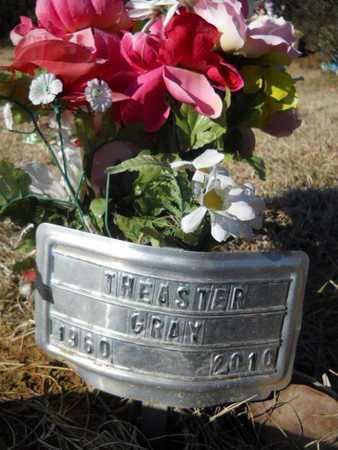 GRAY, THEASTER - Lincoln County, Louisiana | THEASTER GRAY - Louisiana Gravestone Photos