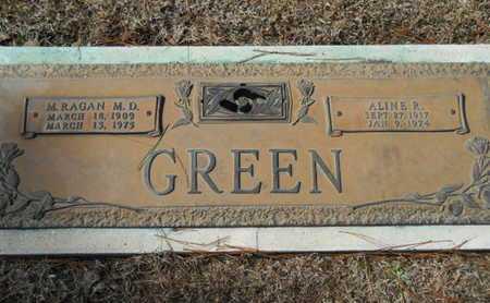 GREEN, ALINE R - Lincoln County, Louisiana   ALINE R GREEN - Louisiana Gravestone Photos