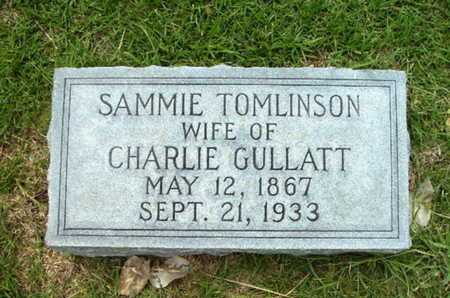 TOMLINSON GULLATT, SAMMIE - Lincoln County, Louisiana | SAMMIE TOMLINSON GULLATT - Louisiana Gravestone Photos