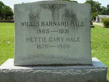 HALE, HETTIE CARY - Lincoln County, Louisiana | HETTIE CARY HALE - Louisiana Gravestone Photos