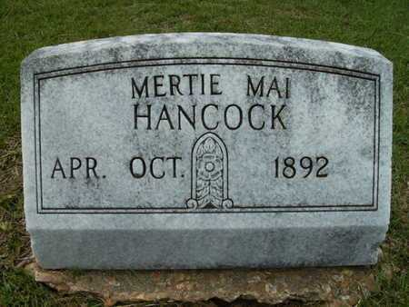HANCOCK, MERTIE MAI - Lincoln County, Louisiana | MERTIE MAI HANCOCK - Louisiana Gravestone Photos