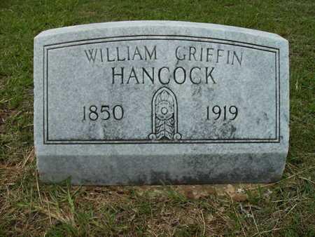 HANCOCK, WILLIAM GRIFFIN - Lincoln County, Louisiana | WILLIAM GRIFFIN HANCOCK - Louisiana Gravestone Photos