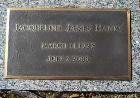 JAMES HANKS, JACQUELINE - Lincoln County, Louisiana | JACQUELINE JAMES HANKS - Louisiana Gravestone Photos