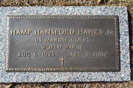 HANKS, HAMP HANSFORD, JR  (VETERAN WWII) - Lincoln County, Louisiana | HAMP HANSFORD, JR  (VETERAN WWII) HANKS - Louisiana Gravestone Photos