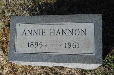 HANNON, ANNIE - Lincoln County, Louisiana   ANNIE HANNON - Louisiana Gravestone Photos