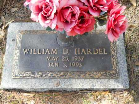 HARDEL, WILLIAM D - Lincoln County, Louisiana | WILLIAM D HARDEL - Louisiana Gravestone Photos