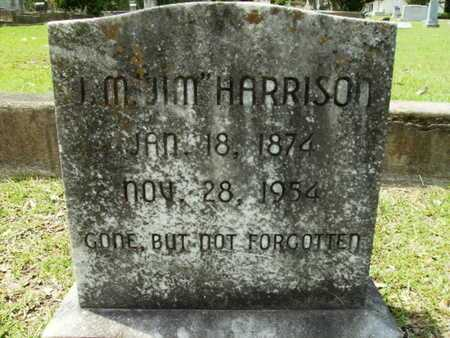 "HARRISON, J M ""JIM"" - Lincoln County, Louisiana 