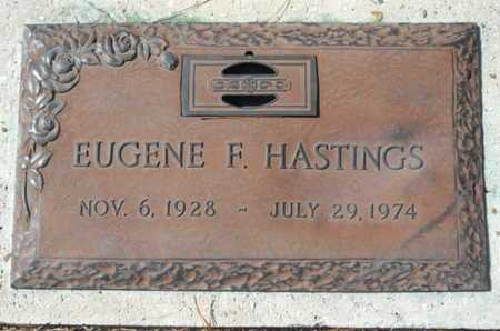HASTINGS, EUGENE F - Lincoln County, Louisiana | EUGENE F HASTINGS - Louisiana Gravestone Photos