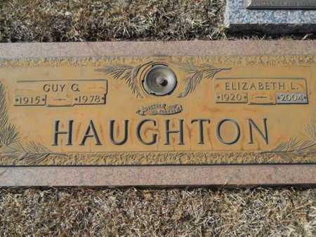 HAUGHTON, ELIZABETH L - Lincoln County, Louisiana | ELIZABETH L HAUGHTON - Louisiana Gravestone Photos