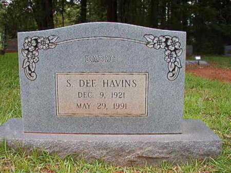 HAVINS, SAMUEL DEE - Lincoln County, Louisiana | SAMUEL DEE HAVINS - Louisiana Gravestone Photos