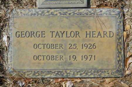 HEARD, GEORGE TAYLOR - Lincoln County, Louisiana | GEORGE TAYLOR HEARD - Louisiana Gravestone Photos