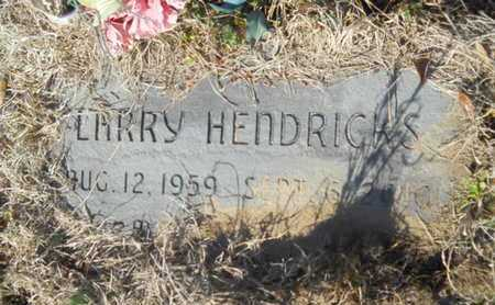 HENDRICKS, LARRY - Lincoln County, Louisiana | LARRY HENDRICKS - Louisiana Gravestone Photos