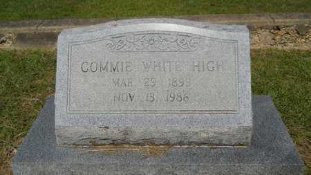 HIGH, COMMIE - Lincoln County, Louisiana | COMMIE HIGH - Louisiana Gravestone Photos