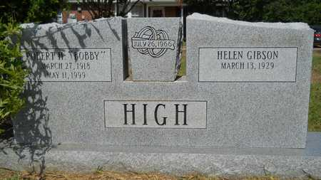 "HIGH, ROBERT H ""BOBBY"" - Lincoln County, Louisiana 