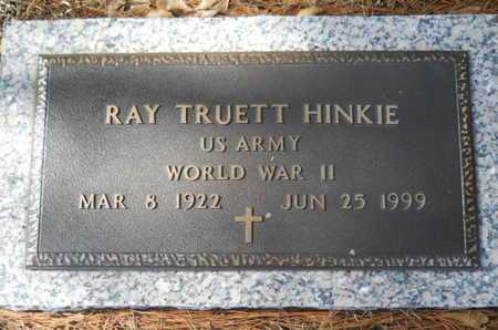HINKIE, RAY TRUETT (VETERAN WWII) - Lincoln County, Louisiana | RAY TRUETT (VETERAN WWII) HINKIE - Louisiana Gravestone Photos