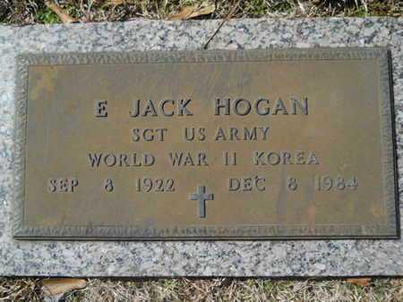 HOGAN, E JACK (VETERAN 2 WARS) - Lincoln County, Louisiana | E JACK (VETERAN 2 WARS) HOGAN - Louisiana Gravestone Photos