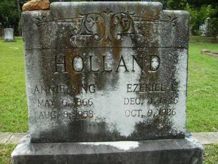 HOLLAND, EZEKIEL L - Lincoln County, Louisiana | EZEKIEL L HOLLAND - Louisiana Gravestone Photos