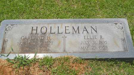 HOLLEMAN, GARLAND H - Lincoln County, Louisiana | GARLAND H HOLLEMAN - Louisiana Gravestone Photos