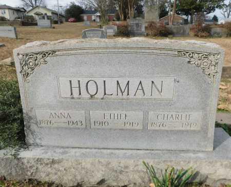 HOLMAN, CHARLIE - Lincoln County, Louisiana | CHARLIE HOLMAN - Louisiana Gravestone Photos